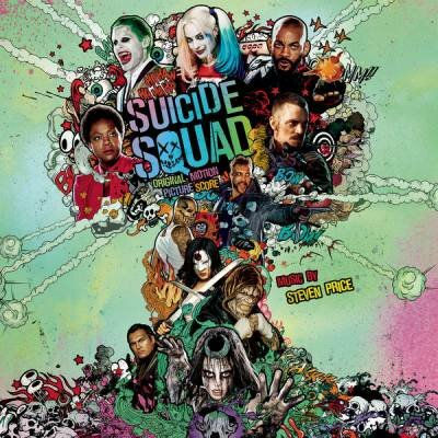 OST - Отряд самоубийц / Suicide Squad: Music by Steven Price (2016) FLAC