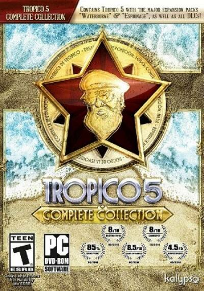 Tropico 5: Complete Collection..., скачать Tropico 5: Complete Collection..., скачать Tropico 5: Complete Collection... через торрент