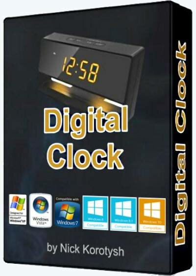 Digital Clock 4.5.3 Stable (2017) PC | + Portable